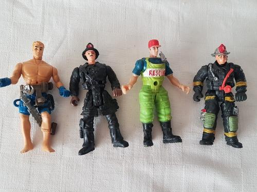 Muñecos Para Coleccionar , Bomberos Leer Descr.