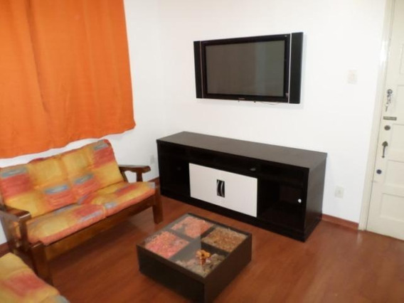 Apartamento Na Ponta Da Praia 1 Dormitório Mobiliado