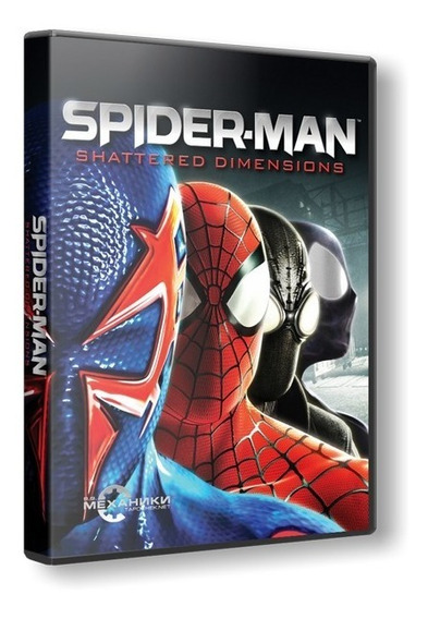 Spider-man Shattered Dimensions - Dvd Pc - Frete 8 Reais