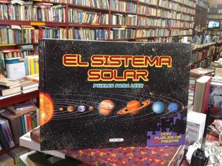El Sistema Solar. Puzzles Para Leer. Rompecabezas. Niños.