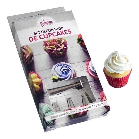 Set Para Decorar Cupcakes Parpen
