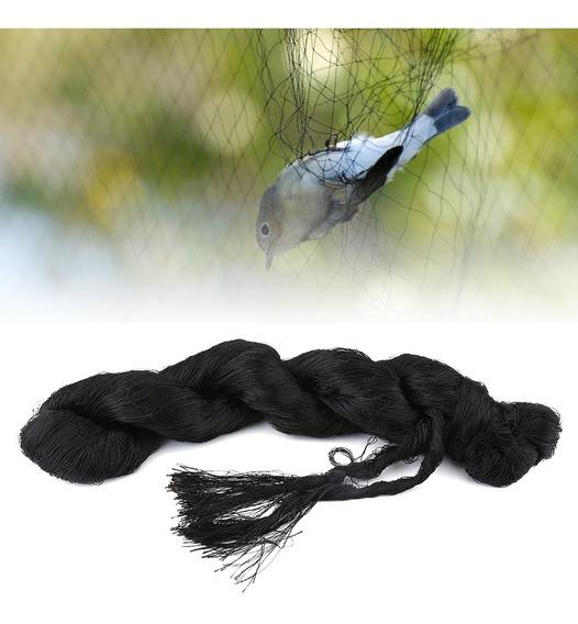 7.61 * 15.24m Preto Anti Pássaro Proteção Rede De Malha Para