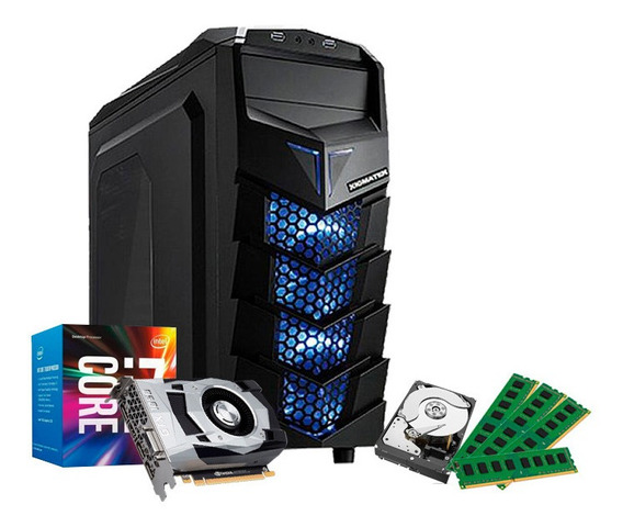 Pc Gamer I7 3770, 32gb, Hd 1tb, Geforce 4gb 1050 Gtx Ti + Nf