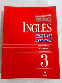 13 Livros Curso De Idiomas Globo Inglês Sem Fita