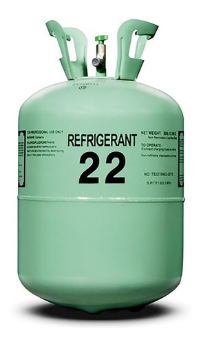Imagen 1 de 1 de Gas Refrigerante R22 X Kg Con Envase Incluído.