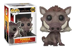 Figura Funko Pop Disney Lion King - Pumbaa 550. Original