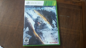 Jogo Xbox 360 Metal Gear Rising Revengeance Complete Ntsc