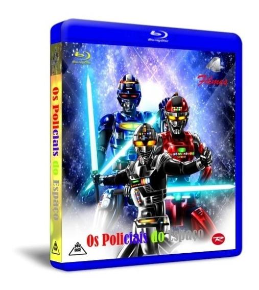 Blu Ray Filmes Gavan,sharivan E Shaider 4 Filmes Em Um Só Bd