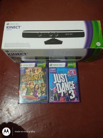 Vende-se Kitnet Do Xbox 360 Dois Jogos Original Filé.