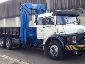 Mb L 1519 - 78/78- Truck, Munck Hidrauguincho, Hd 35000