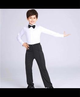 Conjunto De Ballroom O Salsa Para Niños Talle 10/12