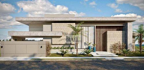 Casa À Venda Condomínio Damha Vi Com 3 Quartos, 4 Vagas, 250 M² - V7905