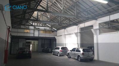 Galpão Para Alugar, 750 M² Por R$ 11.900/mês - Mooca - São Paulo/sp - Ga0069