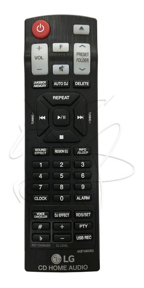 Controle P/ Mini System Lg Cm8460 - Original Novo !!