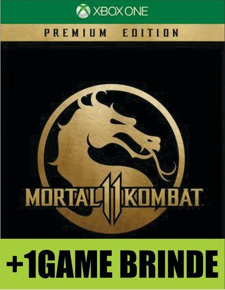 Mortal Kombat 11 Premium Edition Xbox One Mídia
