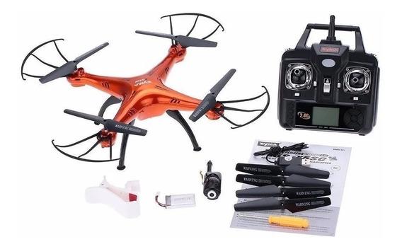 Drone Syma Quadricóptero X5sw-1 4ch 2.4g 6-axis Gyro Wi-fi