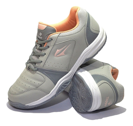 Zapatillas Topper Modelo Damas Tenis Rod - (52164)
