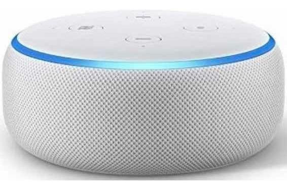 Echo Dot Amazon Smart Speaker Alexa 3ª Geração Português