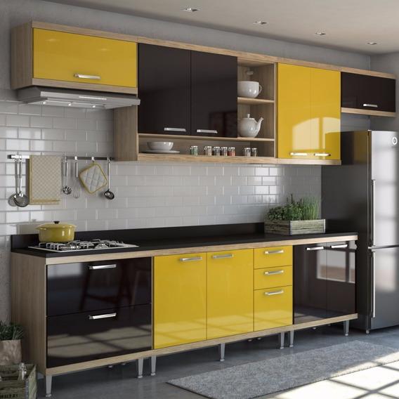 Cozinha Completa 8 Peças Sicília S1t Multimóveis Eg