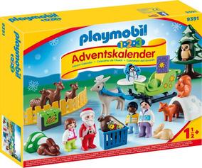 Playmobil 9391 Calendario Natal Animais Novo Pronta Entrega