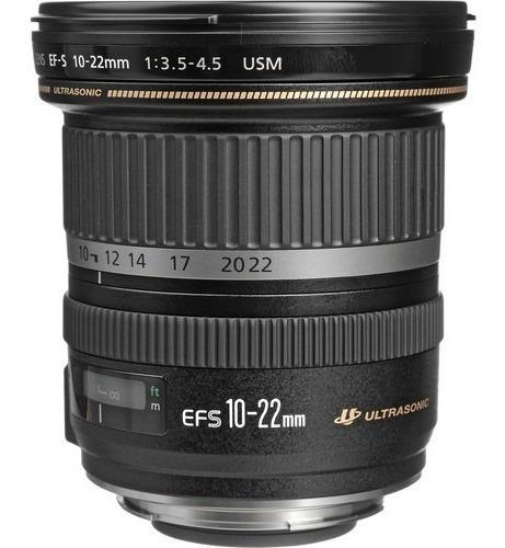 Imagem 1 de 2 de Mlb - Lente Canon Ef-s 10-22mm F/3.5-4.5 Usm* -