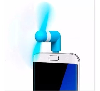Mini Ventilador Portatil Para Celular iPhone Galaxy Morotola