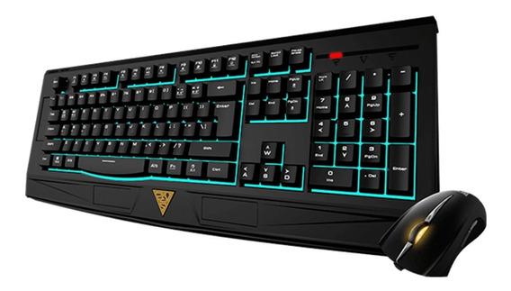 Kit Teclado E Mouse Gamer Gamdias Ares 7 Color Essential