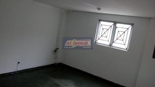 Sala Para Alugar, 200 M² Por R$ 2.500,00/mês - Vila Galvão - Guarulhos/sp - Ai10105