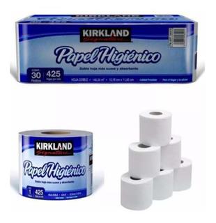 Papel De Baño Higiénico Kirkland, C/30 Rollos Envío Gratis!