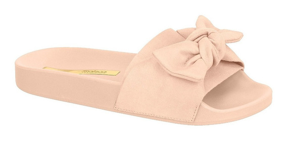 Sandália Chinelo Feminino Slide Moleca Laço