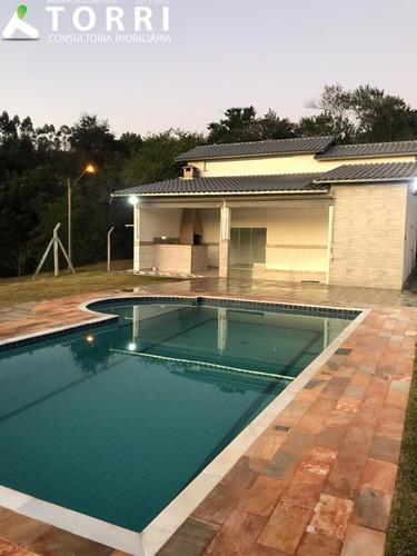 Chácara No Éden Em Condomínio - Ch00223 - 67841382