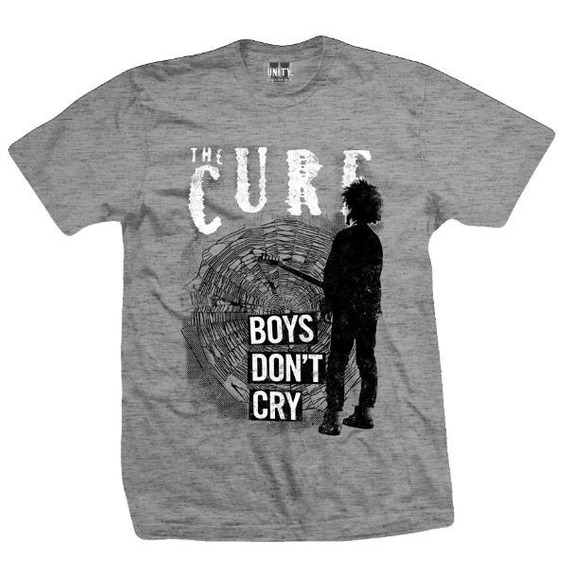 Remera The Cure Boys Talle L Large (54 X 74) Big Bang Rock