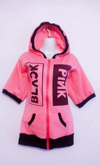 Hoodie Black Pink