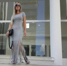 Roupas Femininas Vestido Saida Praia Passeio Viscolycra 2700
