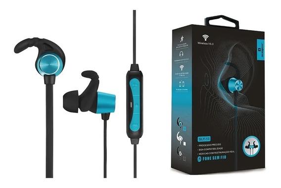 Fone Sem Fio Bluetooth Com Microfone Esportivo Bom E Barato