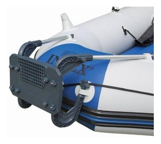 Suporte Para Motor Bote Intex Rack Barco Inflável #68624