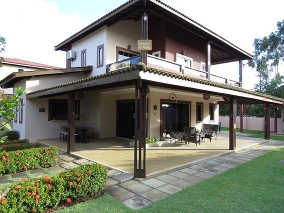 Casa Em Condomínio Com 4 Quartos Para Alugar No Barra Do Jacuípe Em Camaçari/ba - 480
