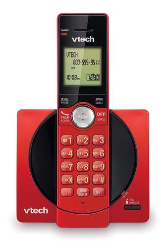 Imagen 1 de 2 de Teléfono inalámbrico VTech CS6919 rojo
