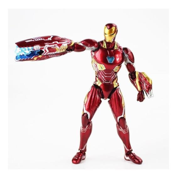 Homem De Ferro Articulado Iron Man Marvel Avengers Shfiguart