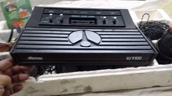 Video Game Antigo Dismac Vg 9100 Com Isopor Leia