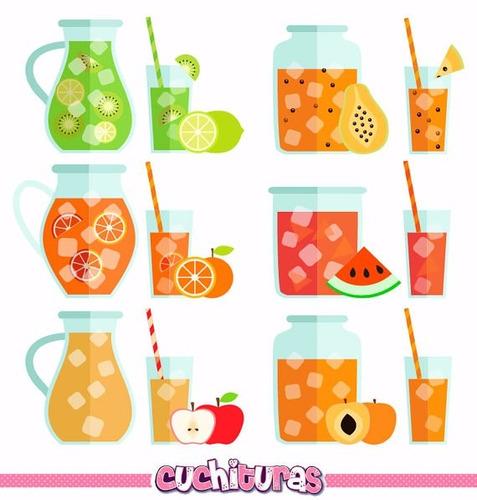 Kit Imprimible Frutas Imagenes Clipart Cod 2