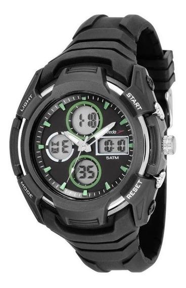 Relógio Speedo Masculino Ref: 81166g0evnv2 Esportivo Anadigi
