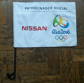 Bandeira Do Brasil - Rio 2016 - Nissan Patrocinador Oficial