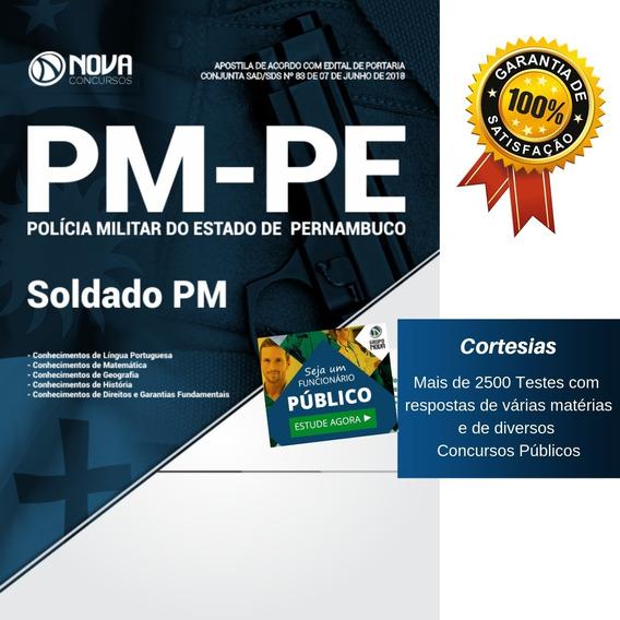 Apostila Pm Pe - Soldado Da Polícia Militar De Pernambuco