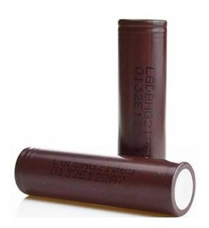 2 Baterias Lg Hg2 18650 3000mah 20a Chocolat Vaper Vaporesso