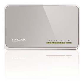 Switch De Mesa De 8 Portas 10/100mbps Tp Link Itl-sf1008d