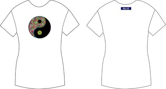 Camiseta Ra.ve Psychoyang Original