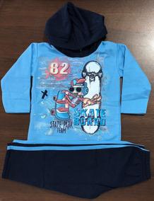 Kit 6 Conjuntos Moleton Infantil Masculino 1 Ao 8