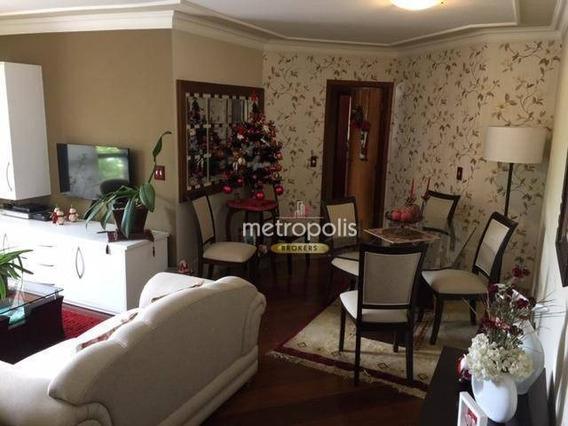 Apartamento Com 3 Dormitórios À Venda, 107 M² Por R$ 553.000 - Barcelona - São Caetano Do Sul/sp - Ap3109