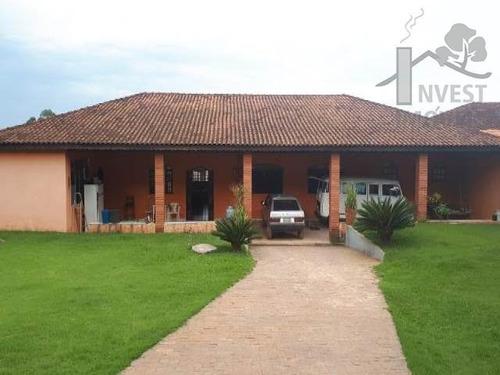 Cód 3337 - Linda Chácara Com 5.000 M² Com Excelente Localiza - 3337